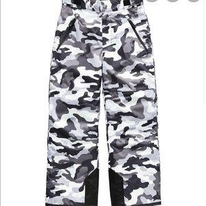 Boys The North Face Camo Ski Snow Insulated Pants